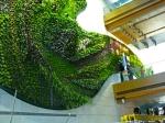 Muro vegetal en el Hotel Icon en Hong Kong (1) (China)