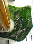 Muro vegetal en el Hotel Icon en Hong Kong (3) (China)