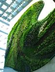 Muro vegetal en el Hotel Icon en Hong Kong (4) (China)