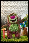 Topiario Lotso en Epcot (Disney World en los EE.UU.)