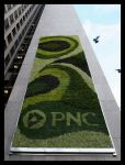 The Living Green ™ muro en Pittsburgh, PA