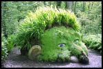 """Escultura de Susan Hill, """"La Cabeza del Gigante"""" en los jardines perdidos de Heligan"""" (foto propiedad de Lee Jones)"""