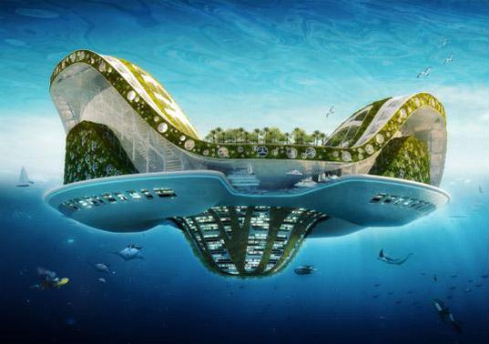 Lilypad, una ciudad flotante